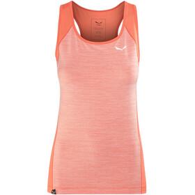 Salewa Pedroc 2 Dry Naiset Hihaton paita , punainen